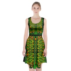Magical Forest Of Freedom And Hope Racerback Midi Dress