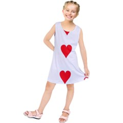 Cart Heart 03 Tre Cuori Kids  Tunic Dress