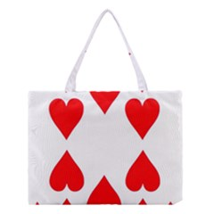 Cart Heart 10 Dieci Cuori Medium Tote Bag