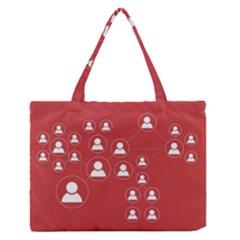 Future Learn Medium Zipper Tote Bag