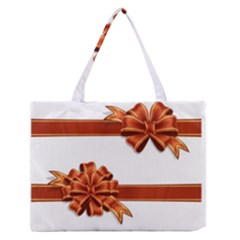 Gift Ribbons Medium Zipper Tote Bag