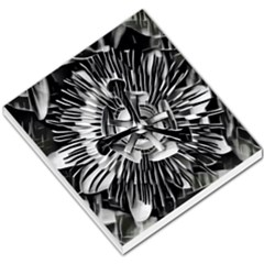 Black And White Passion Flower Passiflora  Small Memo Pads