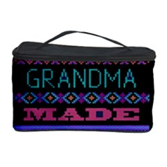 My Grandma Made This Ugly Holiday Black Background Cosmetic Storage Case