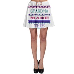 My Grandma Made This Ugly Holiday Skater Skirt