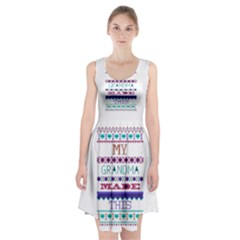 My Grandma Made This Ugly Holiday Racerback Midi Dress