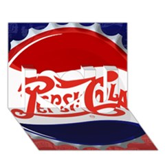 Pepsi Cola I Love You 3d Greeting Card (7x5)
