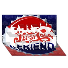 Pepsi Cola Best Friends 3d Greeting Card (8x4)