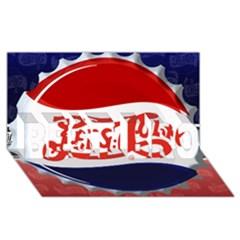 Pepsi Cola BEST BRO 3D Greeting Card (8x4)