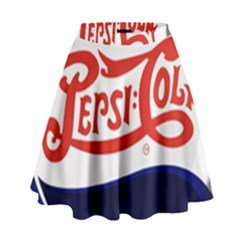 Pepsi Cola High Waist Skirt
