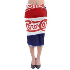 Pepsi Cola Midi Pencil Skirt