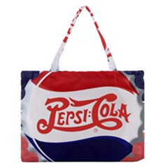 Pepsi Cola Medium Zipper Tote Bag