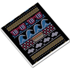 Ugly Summer Ugly Holiday Christmas Black Background Small Memo Pads