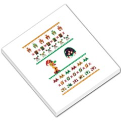 We Wish You A Metroid Christmas Ugly Holiday Christmas Small Memo Pads