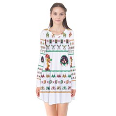 We Wish You A Metroid Christmas Ugly Holiday Christmas Flare Dress