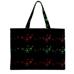 Decorative Xmas Snowflakes Medium Tote Bag