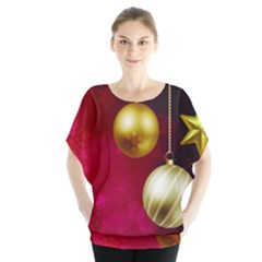 Lamp Star Merry Christmas Blouse
