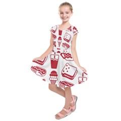 Mad Ice Ernies Tea Bred Kids  Short Sleeve Dress