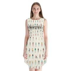 Peopel Sleeveless Chiffon Dress