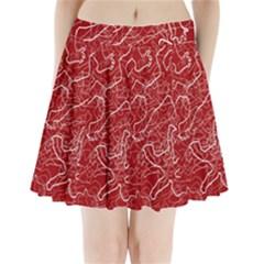 Singt Pleated Mini Skirt
