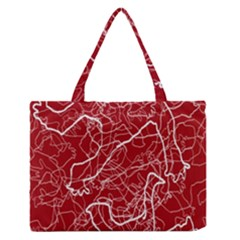 Singt Medium Zipper Tote Bag
