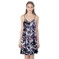 Decorative abstract floral desing Camis Nightgown