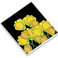 Yellow tulips Small Memo Pads