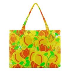 Yellow Garden Medium Tote Bag