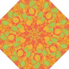 Orange garden Straight Umbrellas