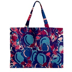 Blue Garden Medium Tote Bag