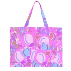 Pink garden Large Tote Bag