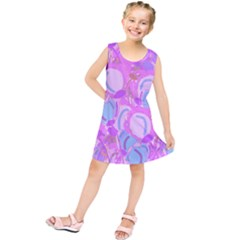 Pink garden Kids  Tunic Dress
