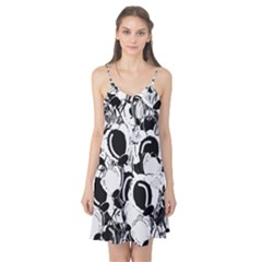Black and white garden Camis Nightgown
