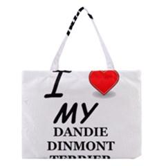 Dandie Dinmont Love Medium Tote Bag