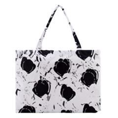 Black roses Medium Tote Bag