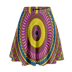 Ornament Mandala High Waist Skirt