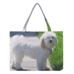 Havanese Full second Medium Tote Bag
