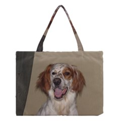 Irish Red And White Setter Medium Tote Bag