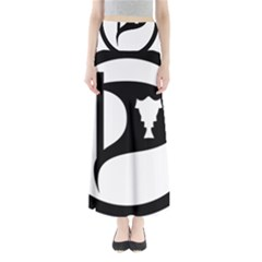 Pirate Party Of Iceland Logo Maxi Skirts