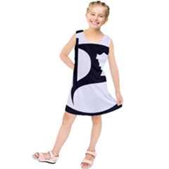 Pirate Party Of Iceland Logo Kids  Tunic Dress