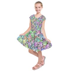 Presents Gifts Christmas Box Kids  Short Sleeve Dress