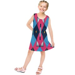 Triangles Stripes And Other Shapes            Kid s Tunic Dress