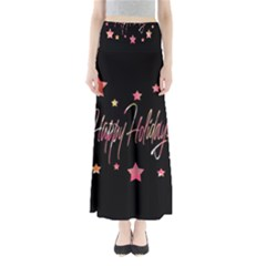 Happy Holidays 3 Maxi Skirts