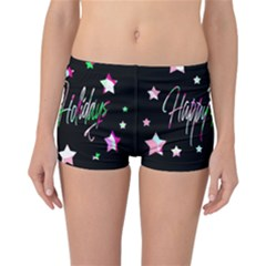 Happy Holidays 5 Reversible Boyleg Bikini Bottoms