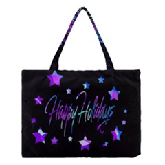 Happy Holidays 6 Medium Tote Bag