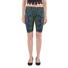 A Bird I Am From Paradise Yoga Cropped Leggings