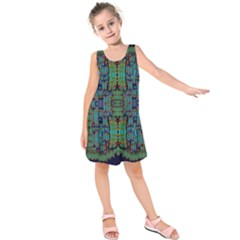 A Bird I Am From Paradise Kids  Sleeveless Dress