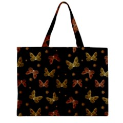 Insects Motif Pattern Medium Tote Bag
