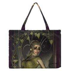 Wonderful Fairy Medium Zipper Tote Bag