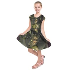 Wonderful Fairy Kids  Short Sleeve Dress
