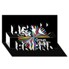 Above & Beyond  Group Therapy Radio Best Friends 3D Greeting Card (8x4)